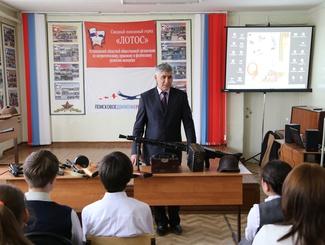 Астраханские поисковики провели в апреле пять уроков мужества для школьников