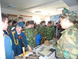 Региональная акция «Мы идем снова там, где гремела война…»  проходит в Краснодарском крае