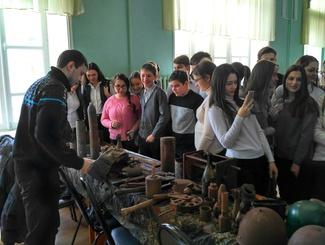 Поисковики липецкого экспедиционного клуба «Неунываки» провели мероприятия для учащихся Липецка и Ельца