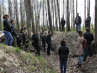Поисковики Чувашии приняли участие в реконструкции Сурского рубежа