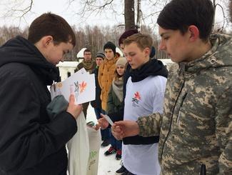 Акцию «Часовые памяти» провели поисковики Владимирской области