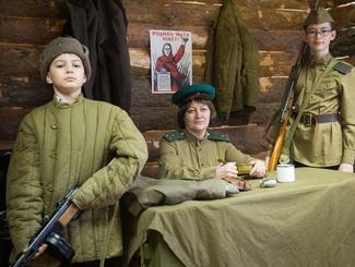 Поисковики Татарстана открыли историческую экспозицию в рамках проекта «Прикосновение к войне»
