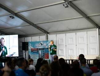 Образовательная программа поисковиков на форуме «Таврида»: лекция Елены Цунаевой