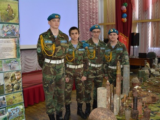 В Югре завершился агитпробег «Дорогами героев - дорогами памяти»
