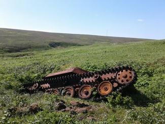 Сахалинские поисковики подняли останки троих советских солдат в ходе экспедиции на остров Шумшу