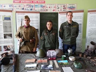 Поисковики Челябинского отряда «Ориентир» рассказали о своей работе студентам  Российского государственного университета правосудия