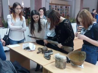 Активисты чувашского поискового отряда «Память» рассказали о своей работе студентам техникума