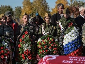 В Оренбургской области простились с двумя земляками, погибшими в ходе Великой Отечественной войны