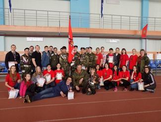 Открытые военно-спортивные соревнования за переходящий кубок клуба «Патриот»