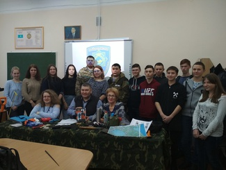 Уроки мужества провели поисковики Казахстана