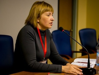 Первые интернет-выборы в новый состав Общественной палаты продолжаются. Кандидат от поискового движения - ответственный секретарь Е.Цунаева.