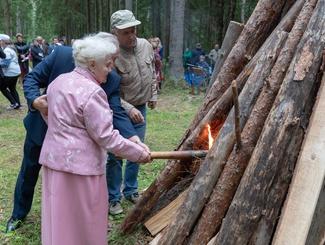 Юбилейный 60-ый Курган Дружбы прошел в Псковской области
