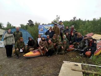 Участники проекта «Небо Родины» завершают эксУчастники проекта «Небо Родины» завершают экспедицию по подъему самолета Пе-2 в Мурманской областипедицию по подъему самолета Пе-2 в Мурманской области
