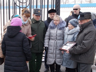 Передача семье для захоронения на родине останков бойца, найденного поисковиками, состоялась в Ижевске