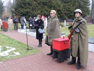 Церемония прощания с двумя бойцами РККА состоялась в Брянске