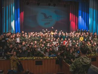 Торжественное закрытие Окружного Слета поисковых отрядов «Никто не забыт»