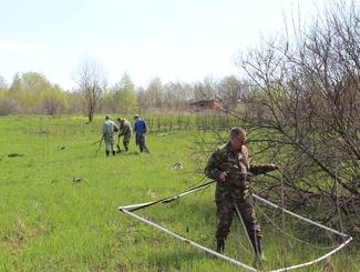 Поисковики подняли останки 57 солдат РККА в Думиничском районе Калужской области