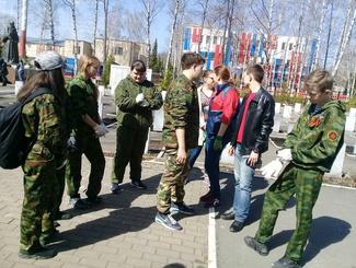 Поисковики Мордовии приняли участие в акции «Дорога к обелиску»