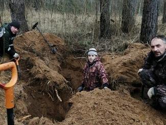 В Псковской области обнаружены останки мирных жителей, уничтоженных фашистами в годы войны
