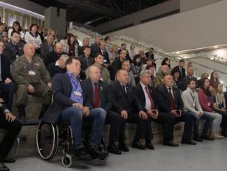 """Торжественное открытие выставки """"Имена из солдатских медальонов"""""""