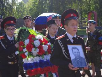 Церемония захоронения двух защитников Отечества состоялась в Ярославле