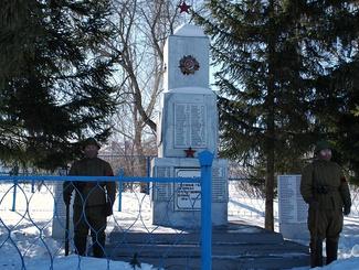 В Ульяновской области простились с гвардии лейтенантом Василием Клыковым