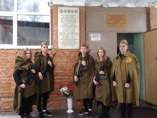 Свердловские поисковики приняли участие в памятных мероприятиях