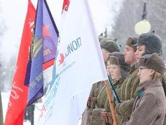 Марийские поисковики совершили Марш Памяти по Йошкар-Оле