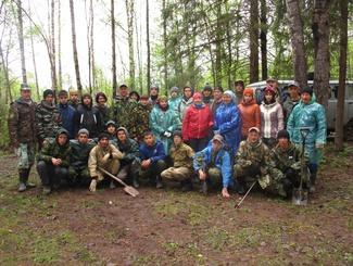 Поисковики Башкирии провели экспедицию под Ржевом