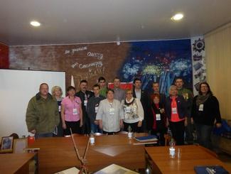 Поисковики приняли участие в слёте патриотических объединений в Костроме