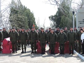 В Керчи предали земле останки 39 советских воинов