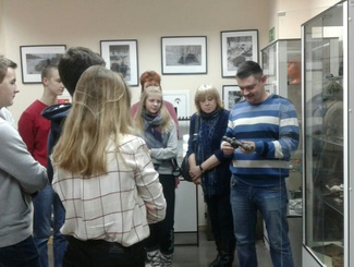 Московские школьники посетили музей поискового отряда «Витязь»