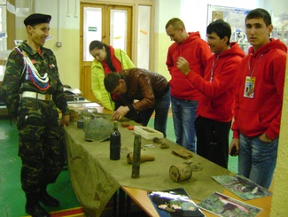 Оренбургские поисковики приняли участие в образовательном молодежном форуме «Рифей»