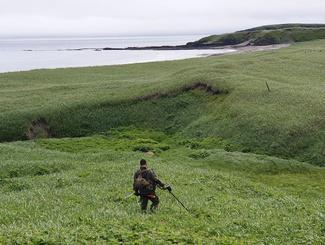 Сахалинские поисковики завершили экспедицию на остров Шумшу
