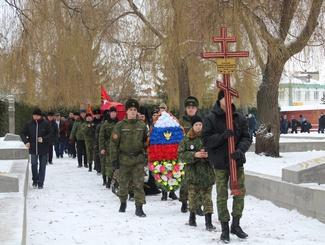 В Тамбове состоялось захоронение найденного поисковиками красноармейца Бажанова
