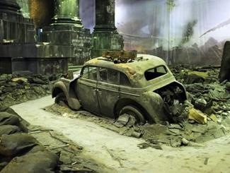 В Санкт-Петербурге открылась панорама «Битва за Берлин. Подвиг знаменосцев»