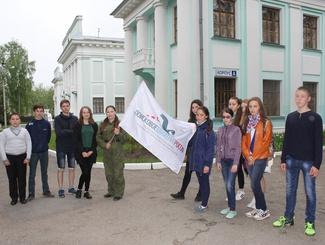 Экскурсия «Чебоксары военных лет» состоялась в рамках проекта «Поискового движения России» и РДШ