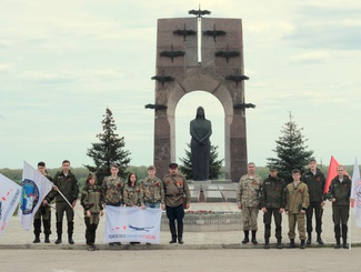 Самарские поисковики приняли участие в  Межрегиональном автопробеге