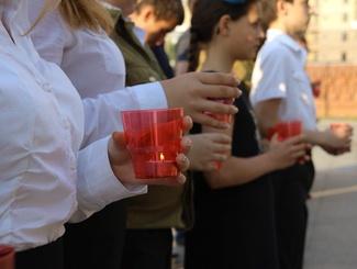 Активисты «Поискового движения России» приняли участие во Всероссийской акции «Свеча Памяти»