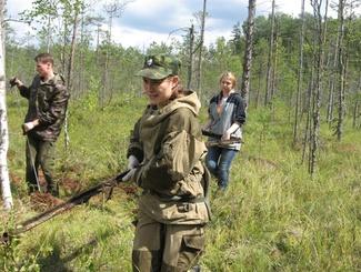 Новгородские поисковики нашли обломки советского штурмовика Ил-2
