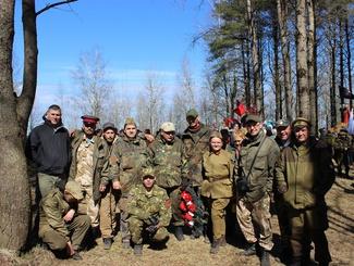 Ульяновский поисковый отряд «Крутояр» принял участие в «Вахте Памяти» в районе Синявинских высот Ленинградской области
