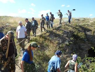 Поисковики исследуют в Крыму высоту, от которой в апреле 1944 года наши войска начали освобождение Керчи