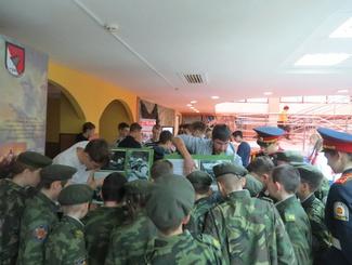 Активисты ивановского отряда «Эхо» приняли участие в областном слете юных патриотов
