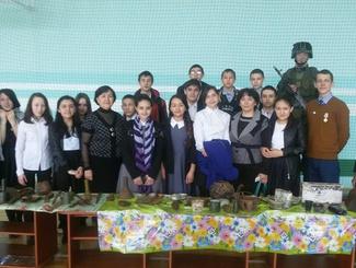 Поисковики Башкортостана провели выставку поисковых находок в селе Старосубхангулово
