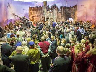 "Панораму ""Битва за Берлин"" за 12 дней работы посетили 18 600 человек"