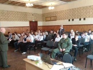 Ростовские поисковики провели встречу со школьниками Волгодонска