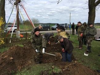Активисты «Поискового Движения России» провели разведывательные работы в Республике Польша
