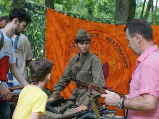 Традиционная патриотическая акция поисковиков «Партизанская сказка» прошла в Краснодаре
