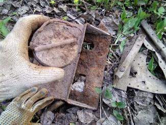 Место гибели штурмовика ИЛ-2 обнаружили поисковики РОО «ПО «Рубеж» в Можайском районе Московской области