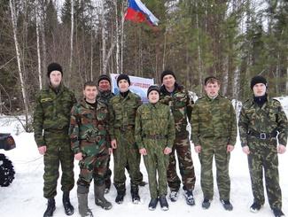Свердловские поисковики провели военно-спортивную игру для школьников